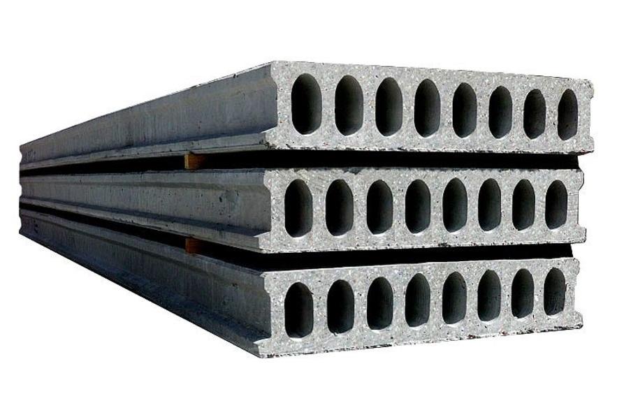 Плиты железобетонные многопустотные стендового безопалубочного формования  Серия ИЖ-723